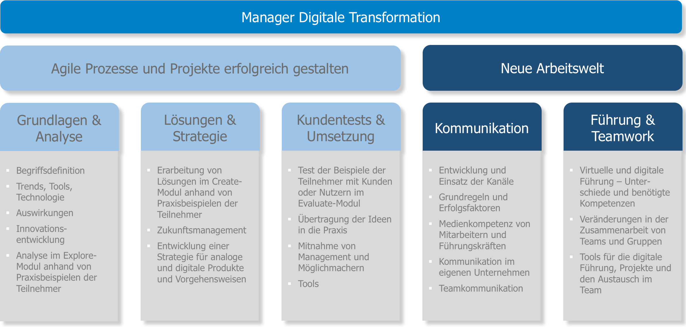 Konzept Manager Digitale Transformation