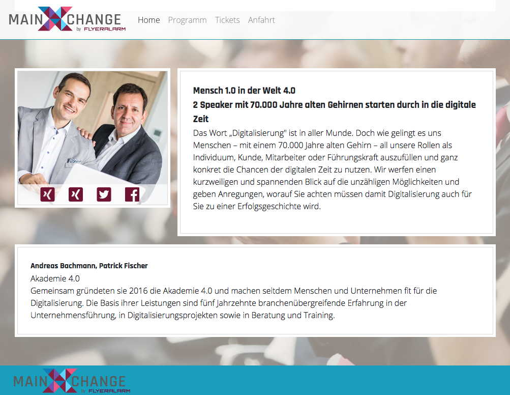 MainXchange Screenshot